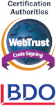 WebTrust for Certification Authorities - Code Signing